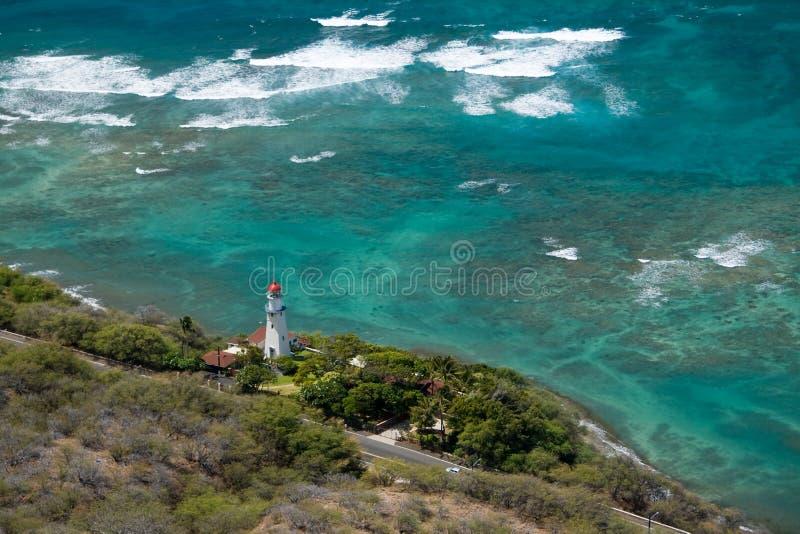 Diamond Head Lighthouse stock photos