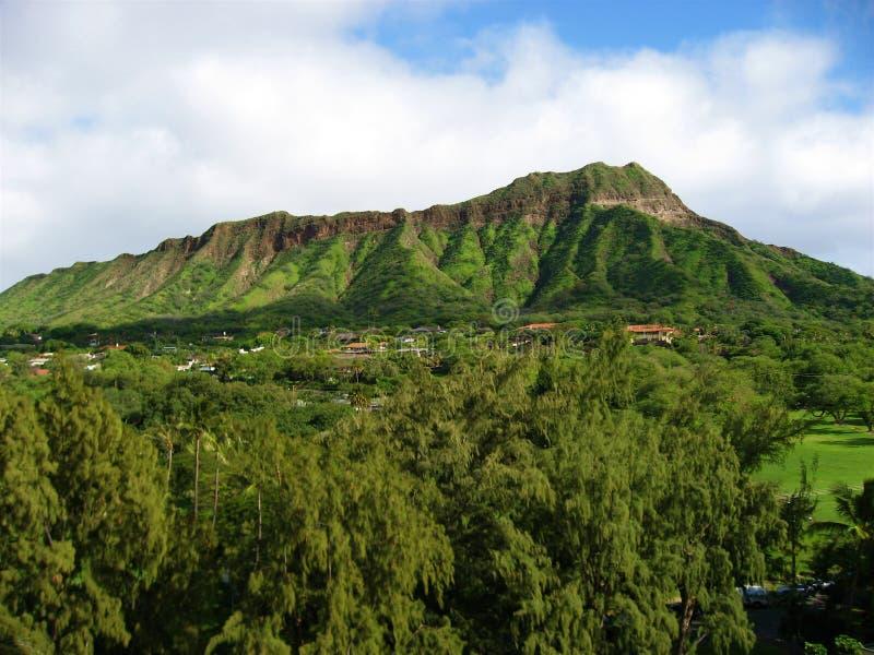 Diamond Head Oahu stock photos