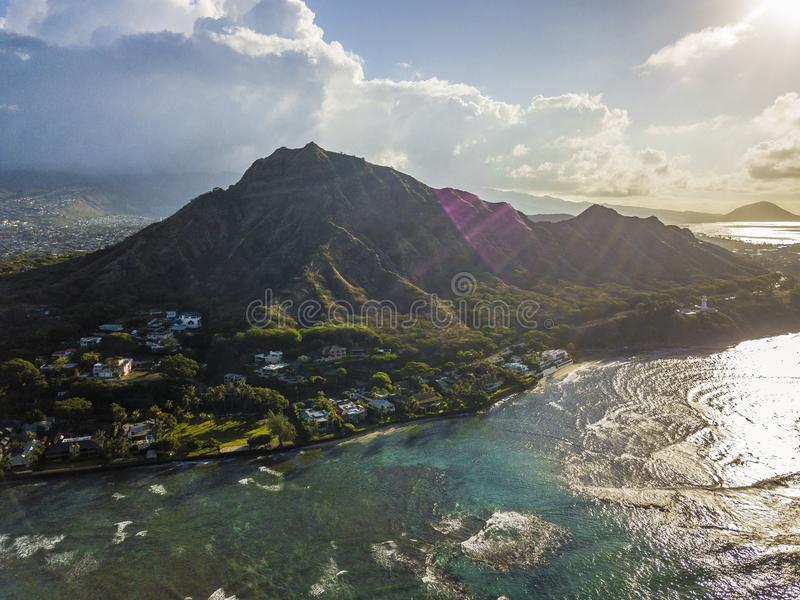 Diamond Head stock images