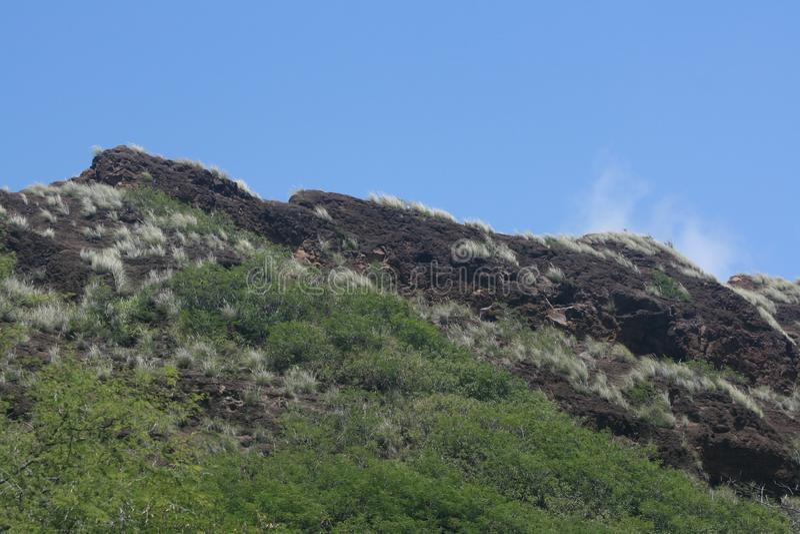 Diamond Head State Park, Oahu, Hawaï royalty-vrije stock afbeelding