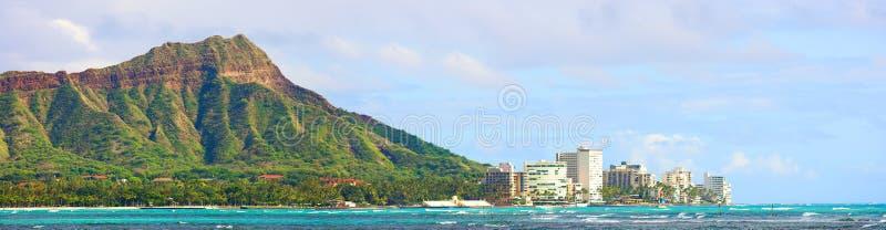Diamond Head - Waikiki, Hawaii stock image