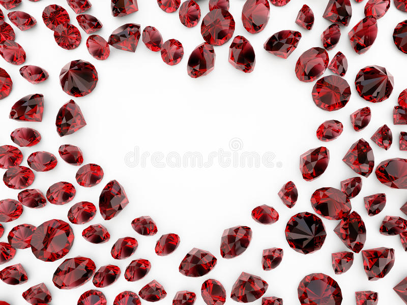 Download Diamond heart stock image. Image of crystal, nobody, luxury - 12242777