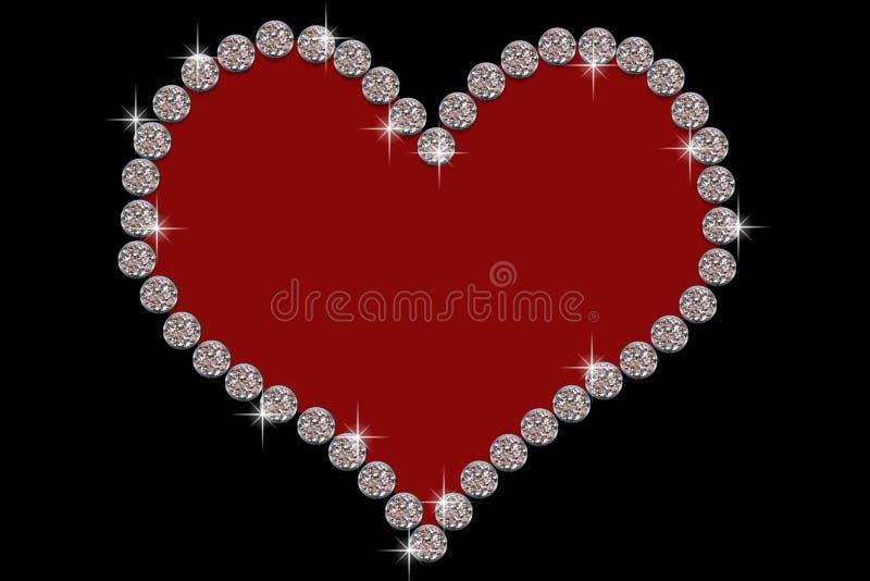 Diamond Heart Stock Photos