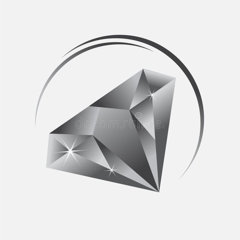 Diamond Icon Vector, Diamond Icon Eps 10, Diamond Icon-Luxus stock abbildung