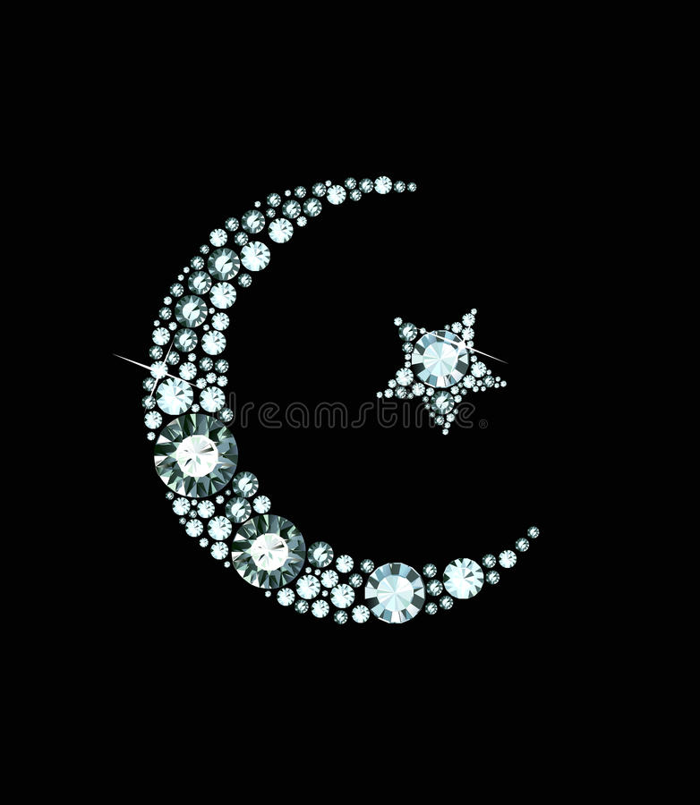 Free Diamond Islam Symbol Stock Image - 34991221