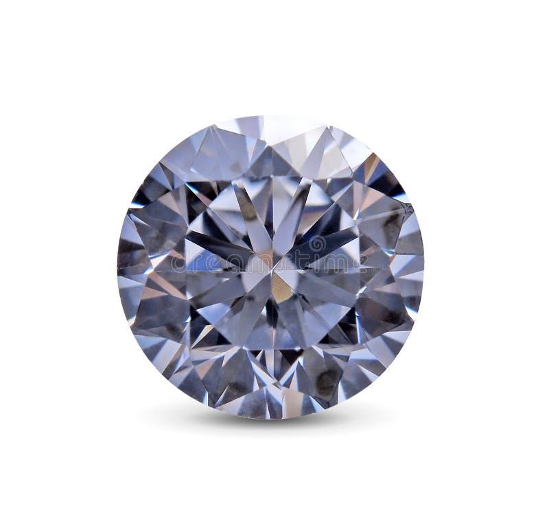 Diamond isolated on white background stock photography