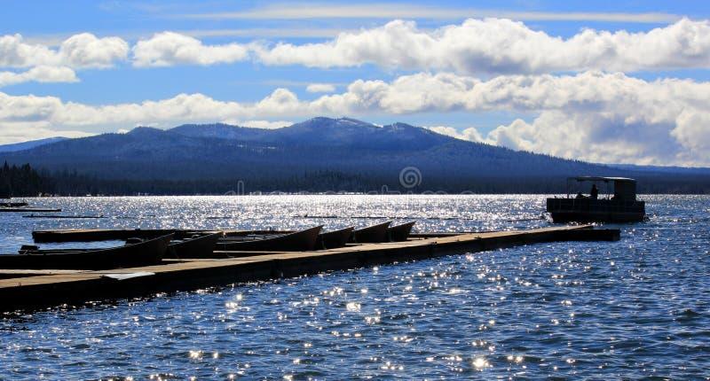 Diamond Lake stock afbeelding