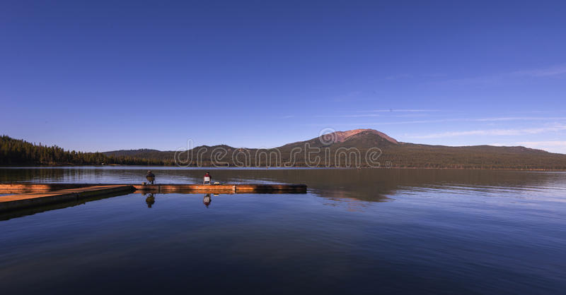Diamond Lake royaltyfri bild