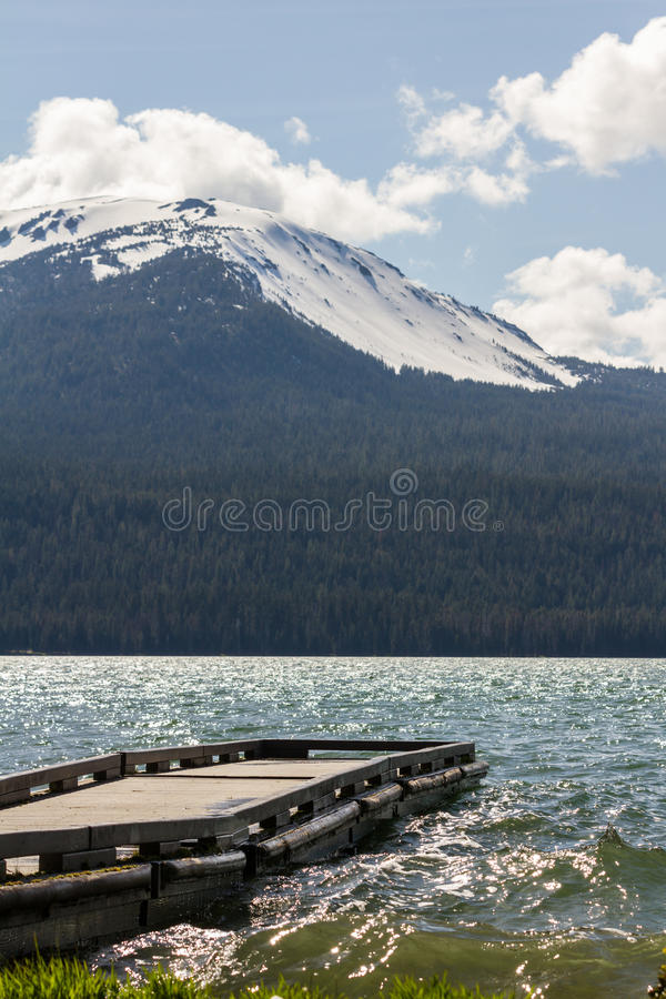 Diamond Lake, Oregon stock foto's
