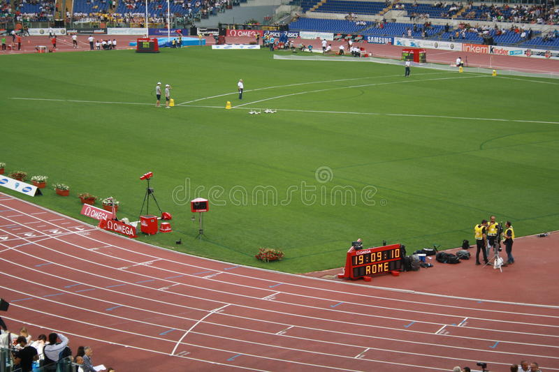 Download Diamond League 2011 editorial photo. Image of crowded - 19818261