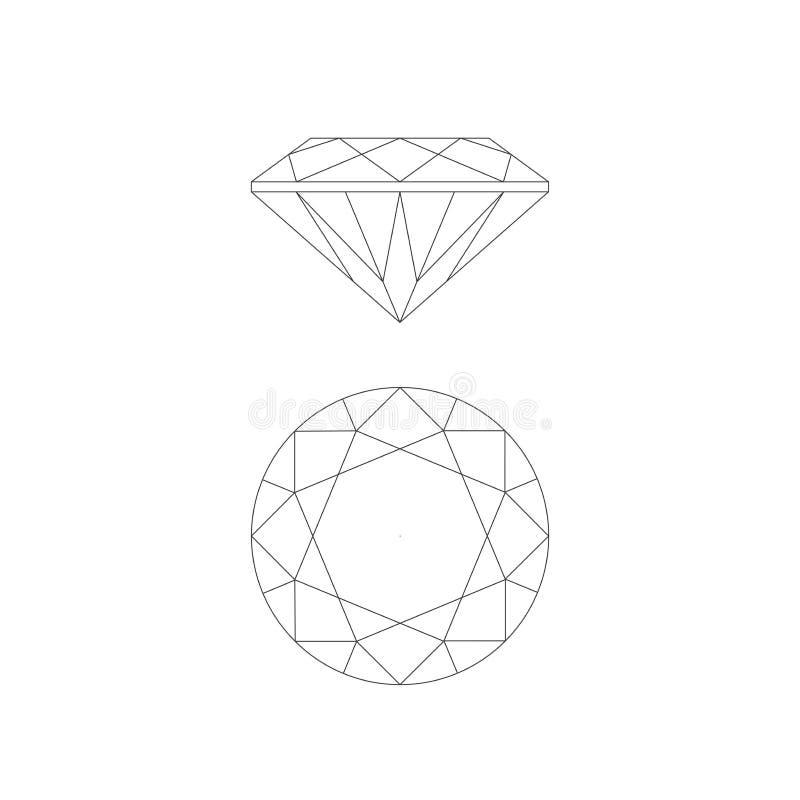 diamond drawing line stock illustrations 4 786 diamond drawing line stock illustrations vectors clipart dreamstime diamond drawing line stock