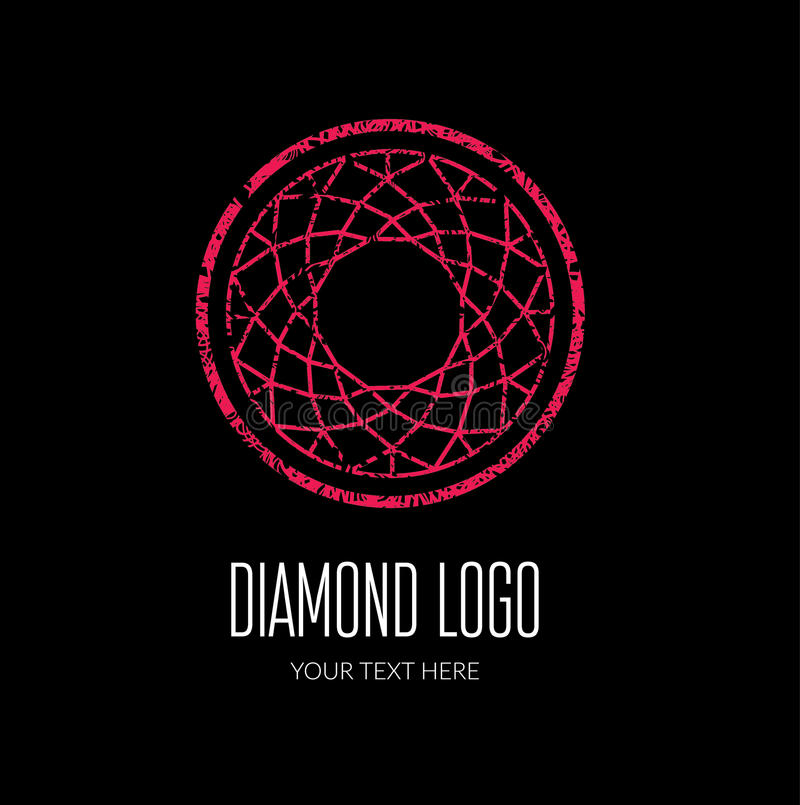 Diamond Logo stock abbildung