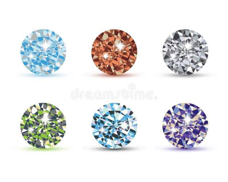 Diamond Logo Template stock abbildung