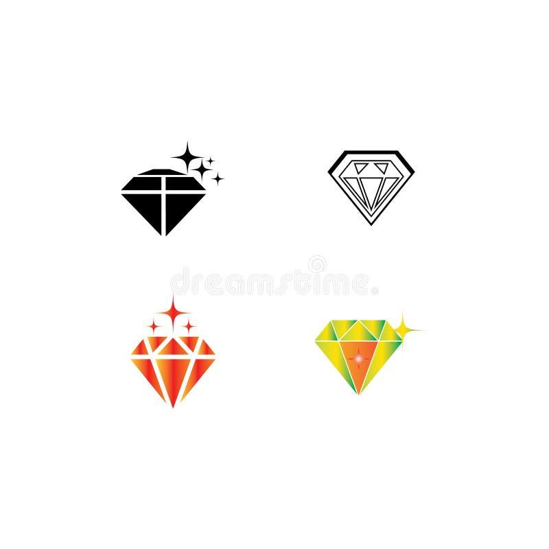 Diamond Logo Template vector icon illustration vector illustration