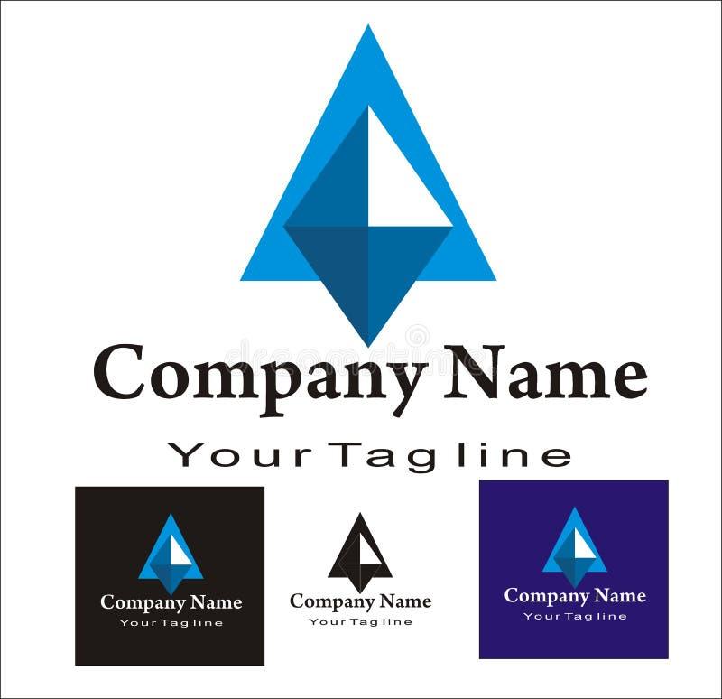 Diamond logo stock illustration