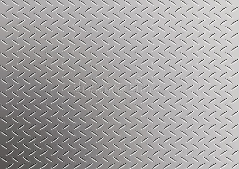 Diamond metal background. Photoshop effect stock illustration
