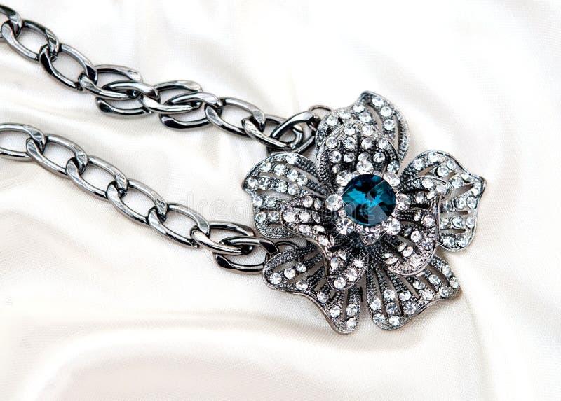 Diamond Necklace fotografia de stock