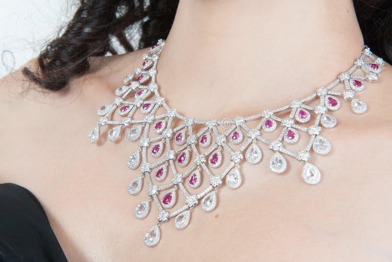 Diamond Necklace images libres de droits