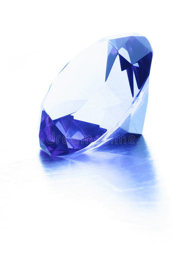 Download Diamond Over A White Background Royalty Free Stock Photography - Image: 7008137