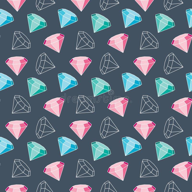 Diamond Pattern arkivfoton