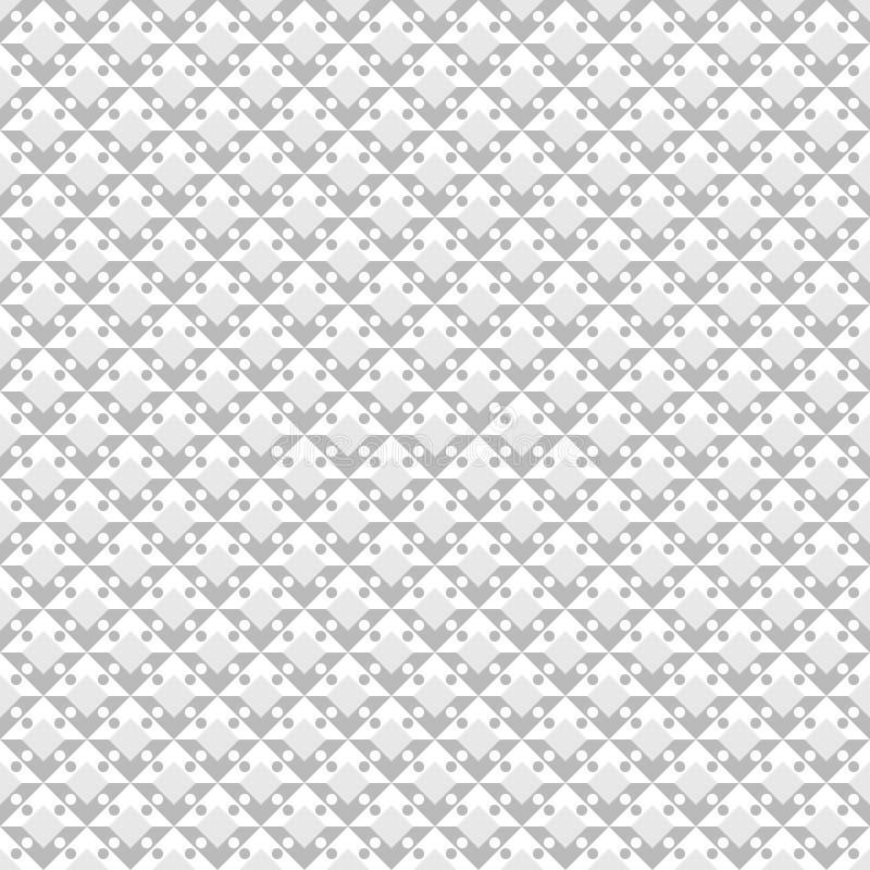 Diamond Pattern abstrato Vetor sem emenda ilustração royalty free