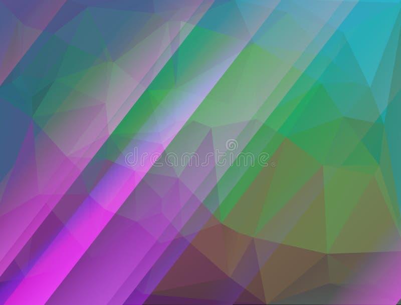Diamond Pattern Background abstracto stock de ilustración