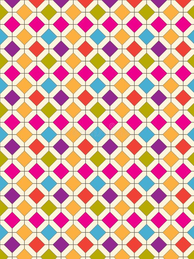 Diamond Pattern Bold illustration libre de droits
