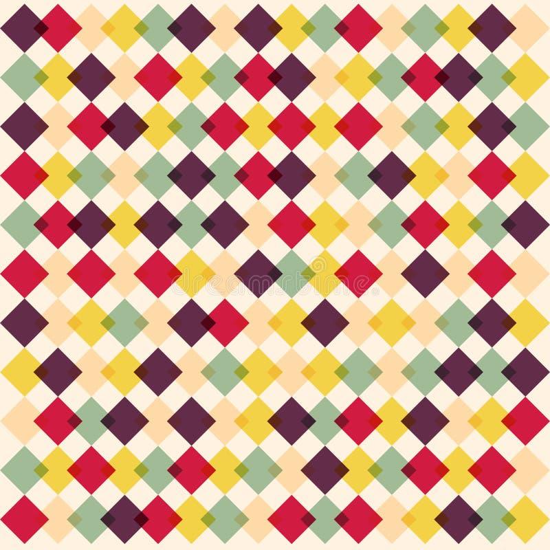 Diamond pattern colorful stock photos