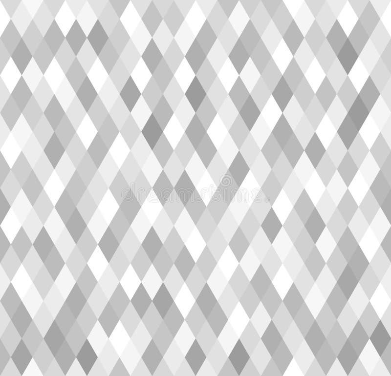 Diamond Pattern Fundo sem emenda do vetor ilustração royalty free