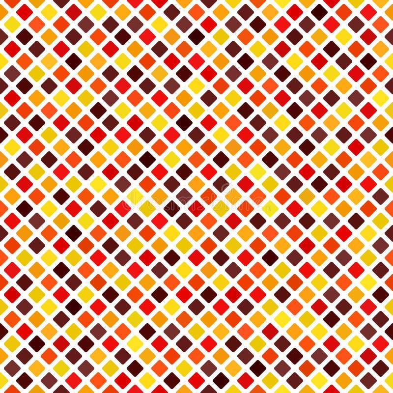 Diamond Pattern Priorità bassa senza giunte di vettore illustrazione vettoriale