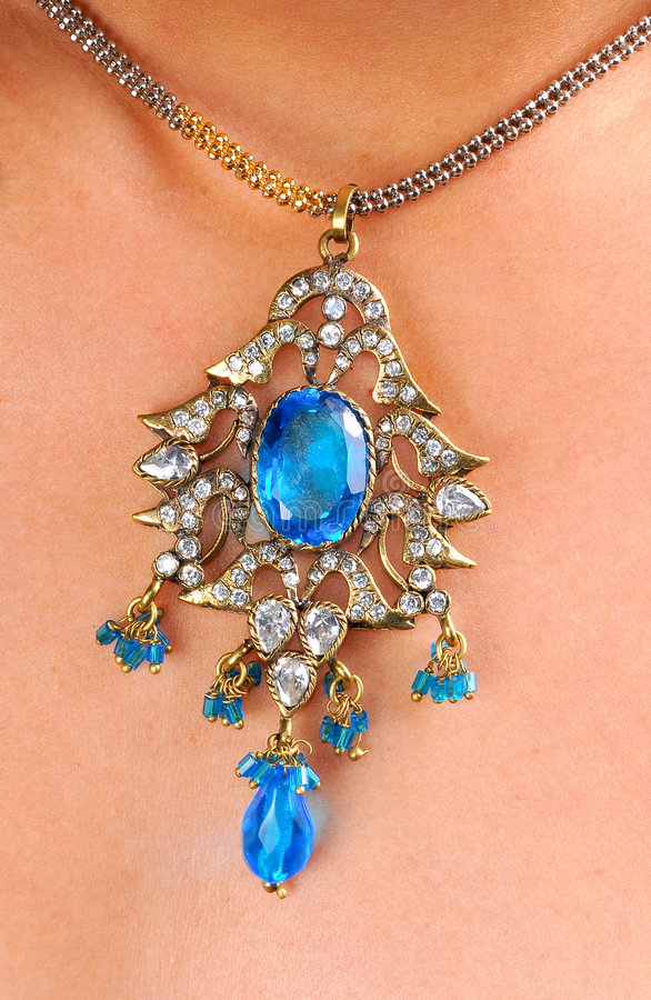 Diamond Pendant Royalty Free Stock Photo