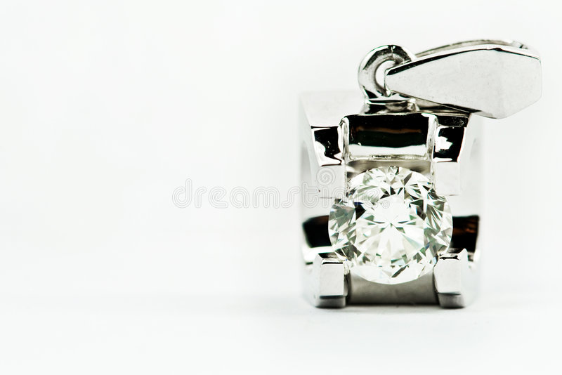Download Diamond pendants stock photo. Image of boxed, committing - 4775692
