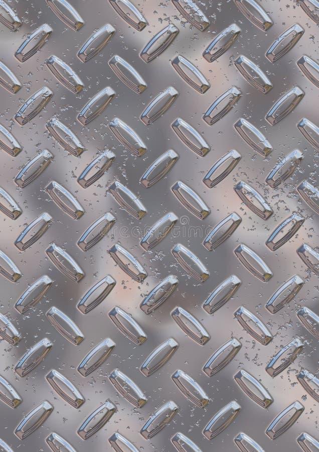 Download Diamond Plate stock illustration. Image of panel, brushed - 1015494