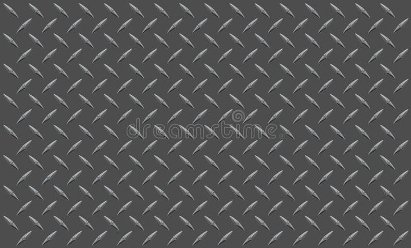Diamond plate. Illustration that could be used for a variety of purposes, ex. construction themed background, accents vector illustration