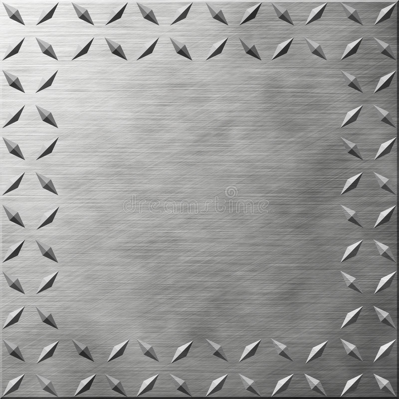 Download Diamond Plate stock illustration. Illustration of silver - 472137