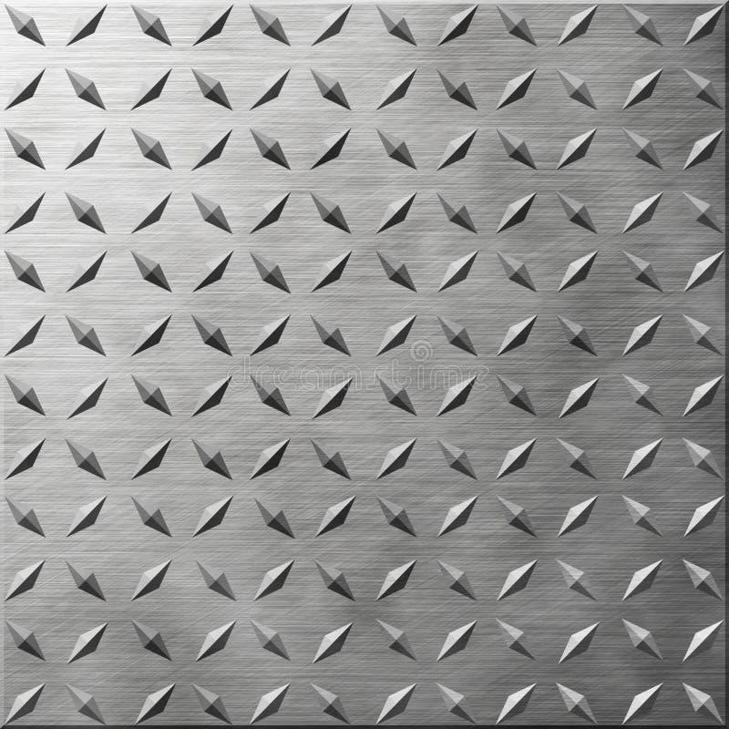 Diamond Plate stock illustration