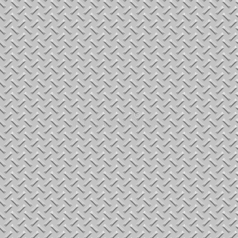 Free Diamond Plate Metal Seamless Texture Royalty Free Stock Photo - 3990885