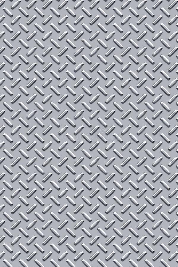 Diamond plate metal texture vector illustration