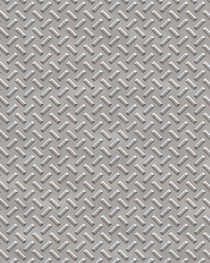 Diamond Plate Steel Background royalty-vrije stock fotografie