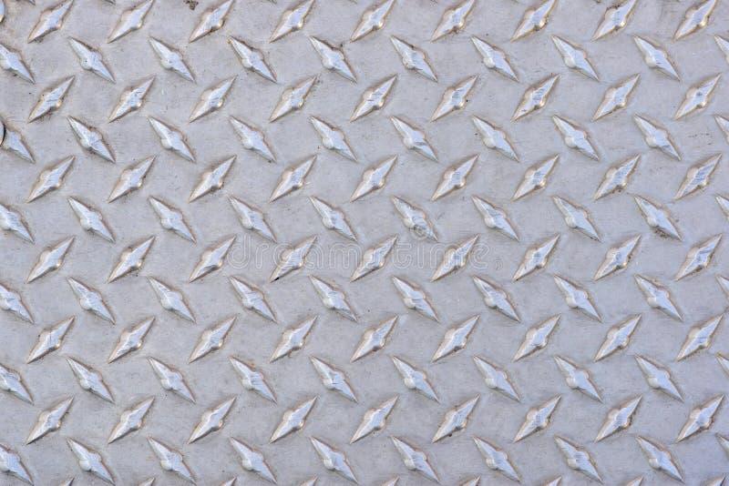 Diamond Plate Texture Background brillant image stock