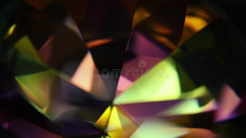 Diamond Prism Macro  Distortions, emerald
