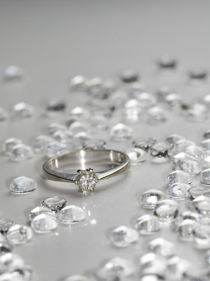 Download Diamond ring stock photo. Image of valuable, jewel, glass - 10226624