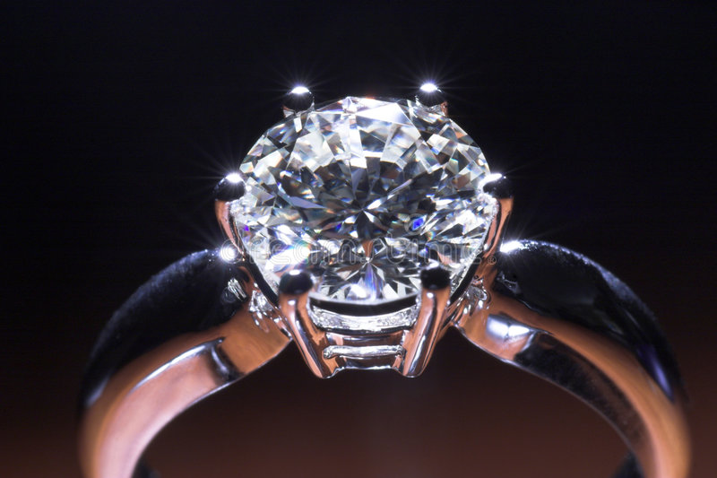 Download Diamond ring stock photo. Image of high, clear, gift, huge - 1858580