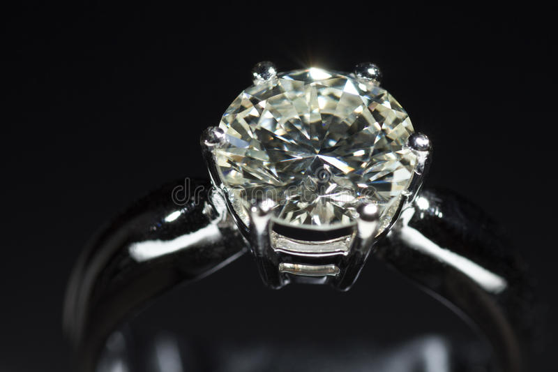 Download Diamond ring stock image. Image of carat, clarity, forever - 20589935