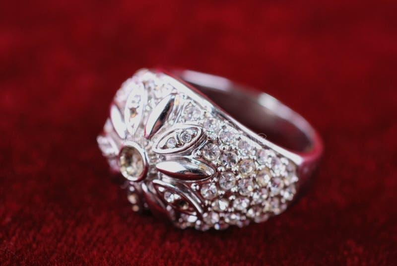 Download Diamond ring stock photo. Image of stylish, shine, crystal - 22012620