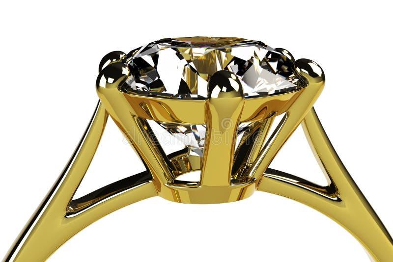 Download Diamond ring stock illustration. Illustration of brilliant - 23876570