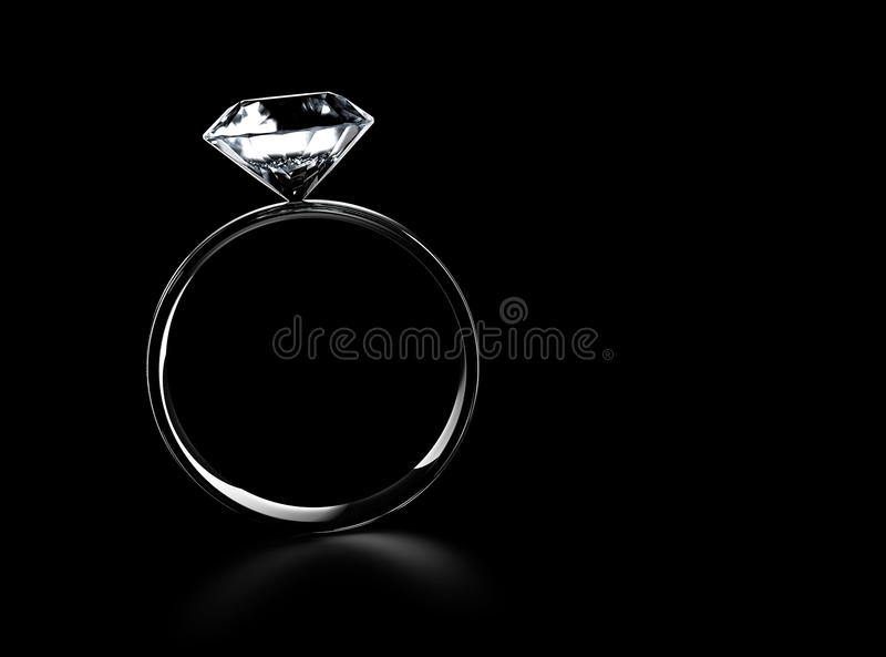 Download Diamond Ring stock illustration. Image of closeup, brightly - 27454276