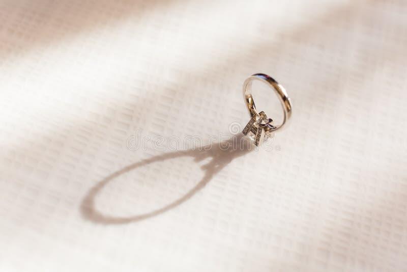 Diamond Ring imagem de stock