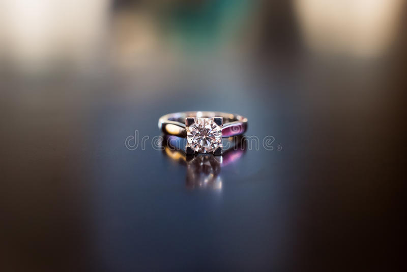 Diamond Ring fotografía de archivo