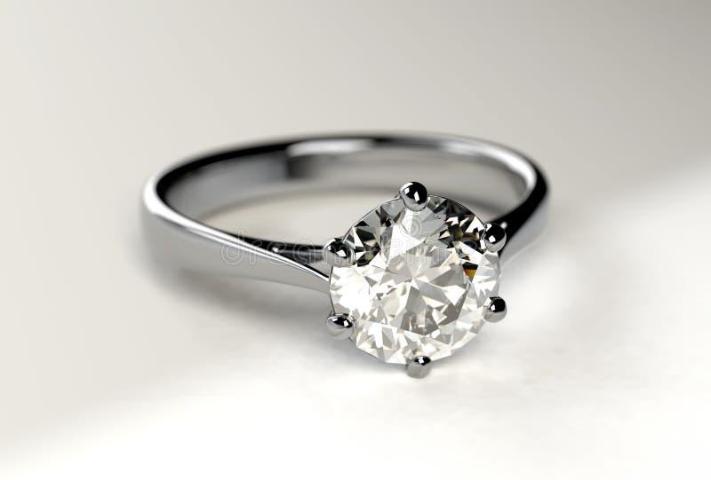 Diamond Ring ilustração do vetor